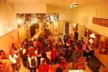 Hall de la Escuela Nacional