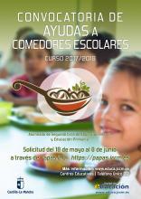 Ayuda en Especie Comedores Escolares Curso 2017/2018